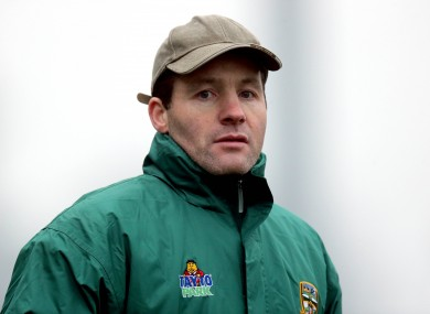 A file image of Meath manager Mick O'Dowd.