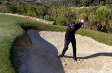 Phil Mickelson hits 2 balls at once in yet another ridiculous trick shot