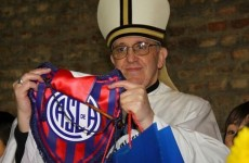 The new Pope's a football hipster, supports Buenos Aires side San Lorenzo