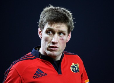 Despite Ronan O'Gara's 100% kicking record, Munster were unable to pull out the win tonight.