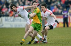 13-man Donegal undone by Tyrone in Omagh