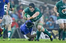 'I kind of got him perfectly' – Sean O'Brien on bulldozing Yoann Huget