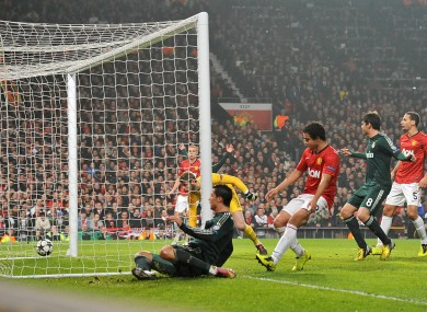 As It Happened Manchester United V Real Madrid Champions League Last