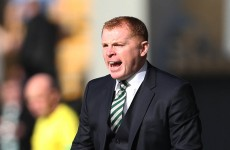 Stokes finds the net as Celtic stay on course for domestic double