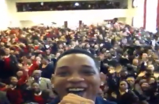 VIDEO: Will Smith raps the Fresh Prince theme… to some schoolgirls