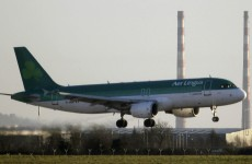 On the up: Aer Lingus passenger figures increase in March