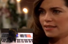 VIDEO:  Soap opera soundtrack…
