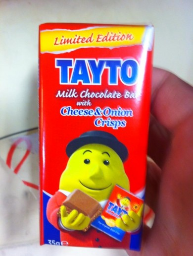 It's finally happened! A crisp flavoured chocolate bar!