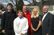 Two kids from Cork to be confirmed by… Pope Francis
