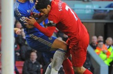 Luis Suarez accepts charge of violent conduct