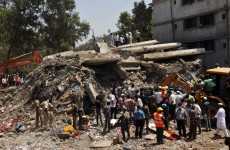 Death toll reaches 45 in India building collapse