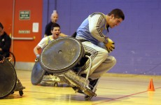 Game of Murderball, Joe? Ireland's boxers tried wheelchair rugby tonight