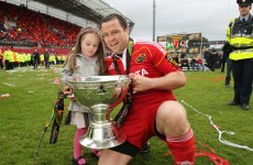 Munster's Marcus Horan to retire at the end of the season