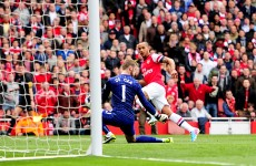 As it happened: Arsenal v Manchester United, Premier League