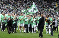 Celtic clinch Scottish Premier League title in style