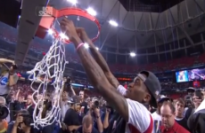 After horror break, Kevin Ware cuts net in emotional March Madness finale