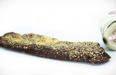 There is now 23 carat gold chocolate bacon and it looks amazing