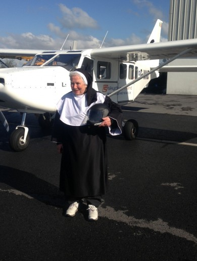 It's a bird, it's a plane… No, it's the 75-year-old Flying Nun
