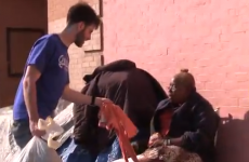 Man gives the homeless Abercrombie & Fitch clothing just to annoy its CEO