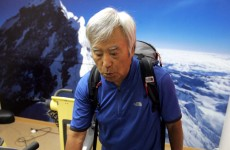 80-year-old wants to be the oldest man to climb Mount Everest