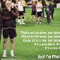 Mike Phelan leaves Manchester United on a high note