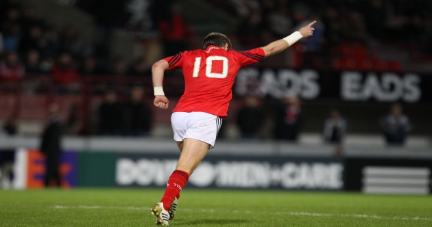 Ronan O'Gara's incredible Munster career in 40 brilliant pictures