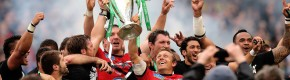Kicking king: Life just gets better and better for Jonny Wilkinson
