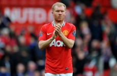 Paul Scholes is hanging up the boots – for good this time