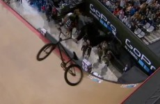 BMX rider lands an insane bikeflip trick at the X Games and wins gold