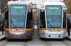 Moving statues as new Luas line construction gets underway