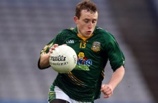 Irish U19 sprint champion to make Meath senior debut