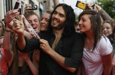 Russell Brand had his most orgasms ever … in Dublin