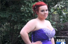 Girl barred from school prom… as her 'breasts were too big'